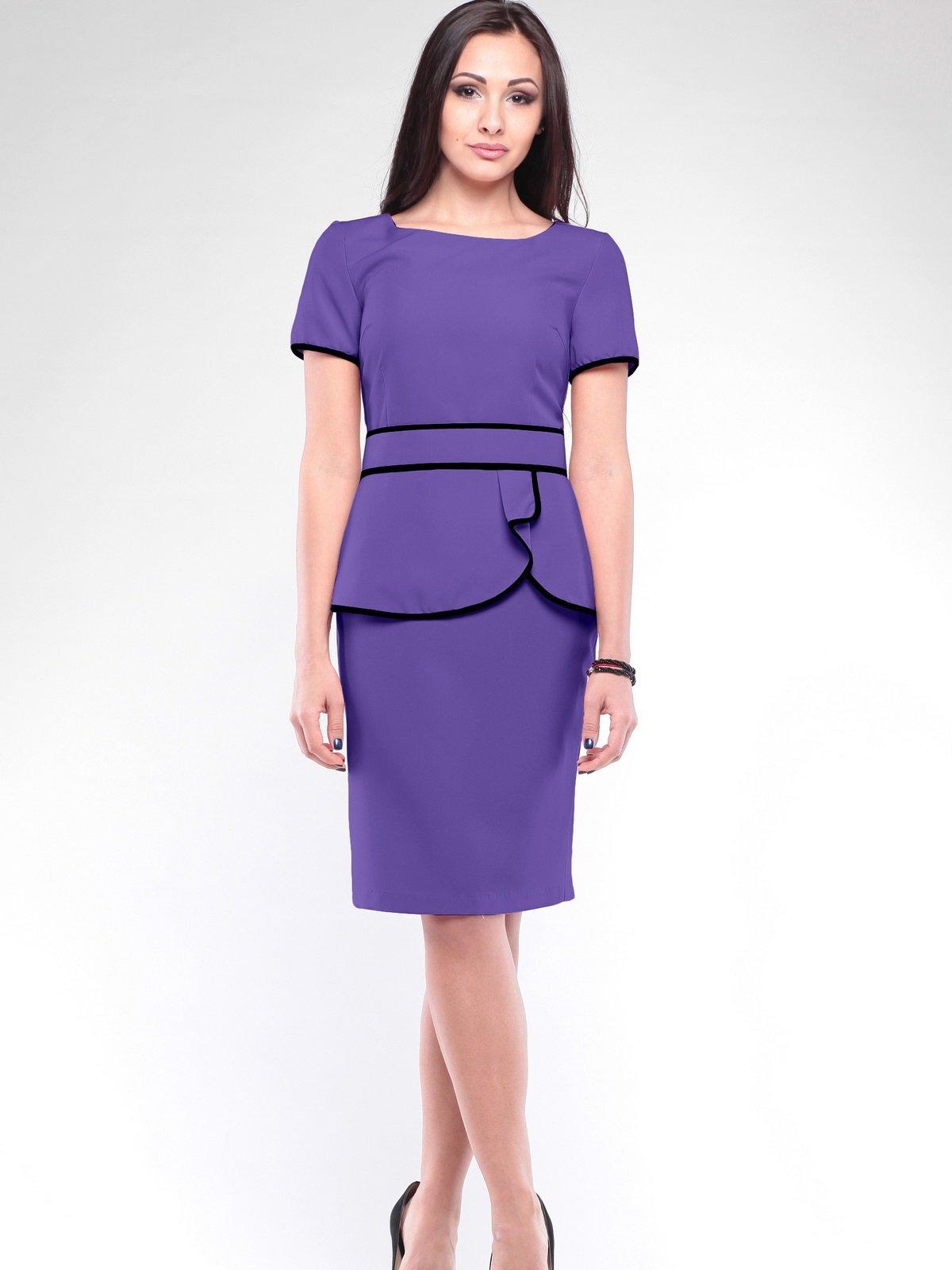 Платье светло-фиалкового цвета | 2114325