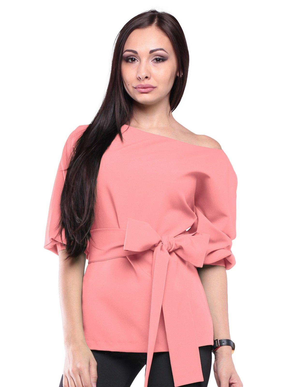 Блуза темно-персикового кольору | 2170361