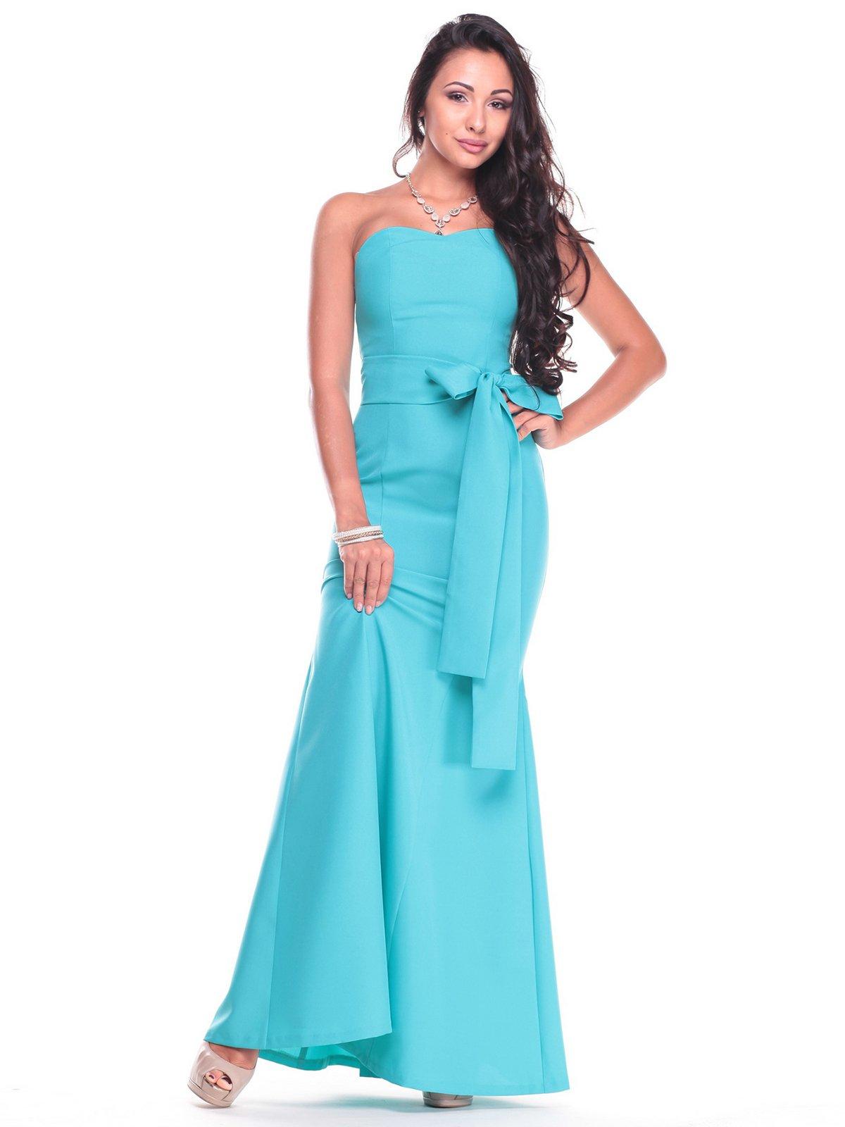 Платье светло-ментолового цвета | 2439888