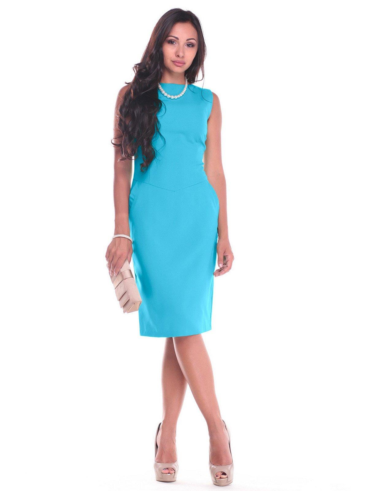 Платье бирюзовое   2442466