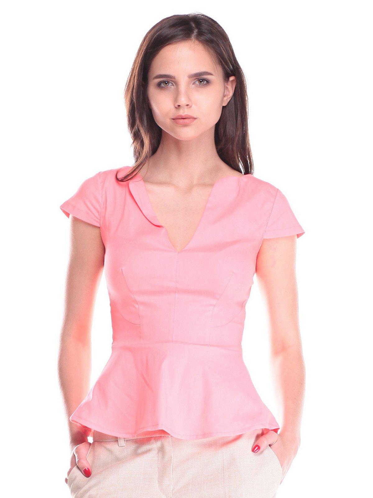 Блуза коралловая | 2442491