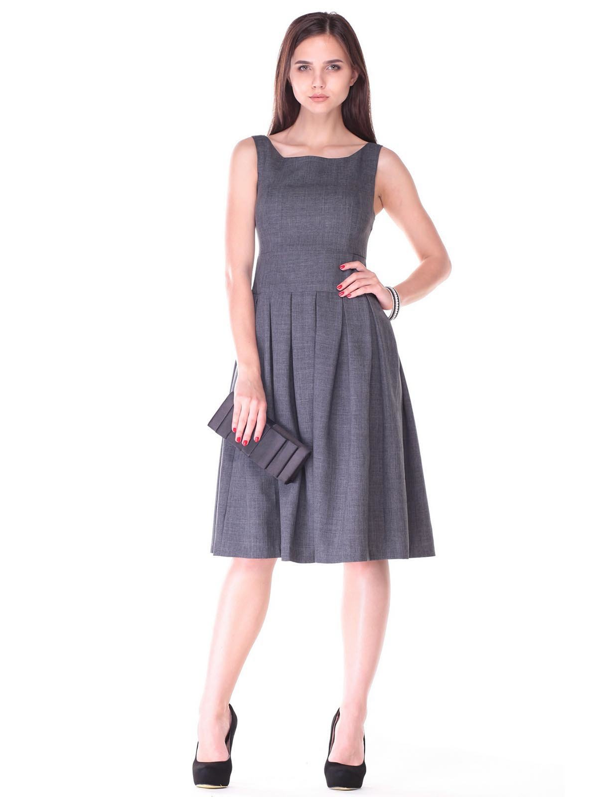 Сукня-сарафан графітового кольору   2447742