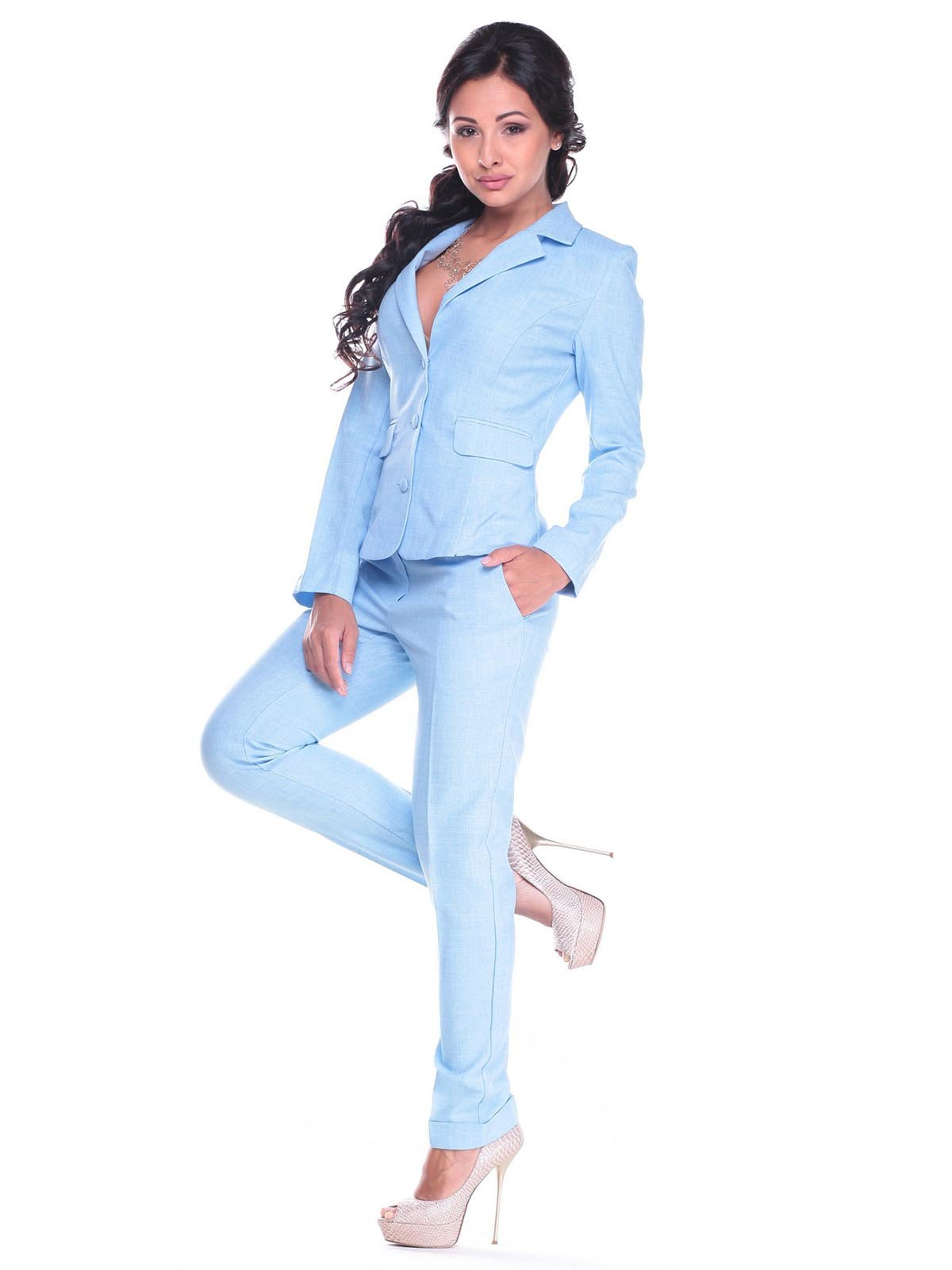 Костюм: жакет и брюки | 2404260