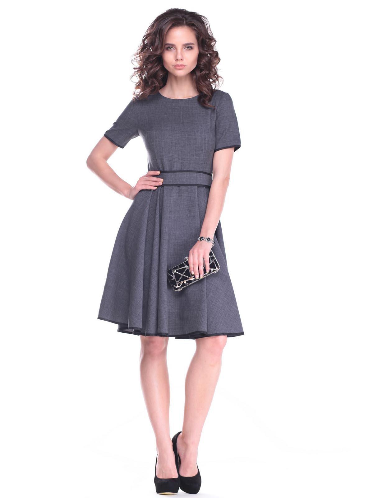 Сукня графітового кольору | 2404280