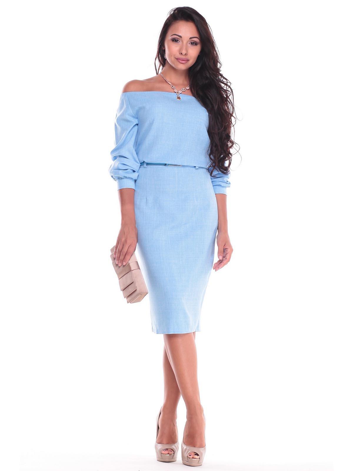 Платье голубое   2447733