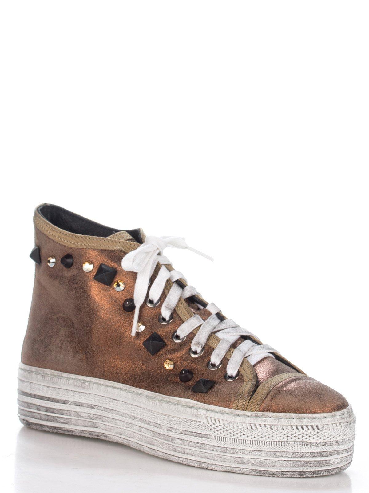 Кеды бронзового цвета | 2453001