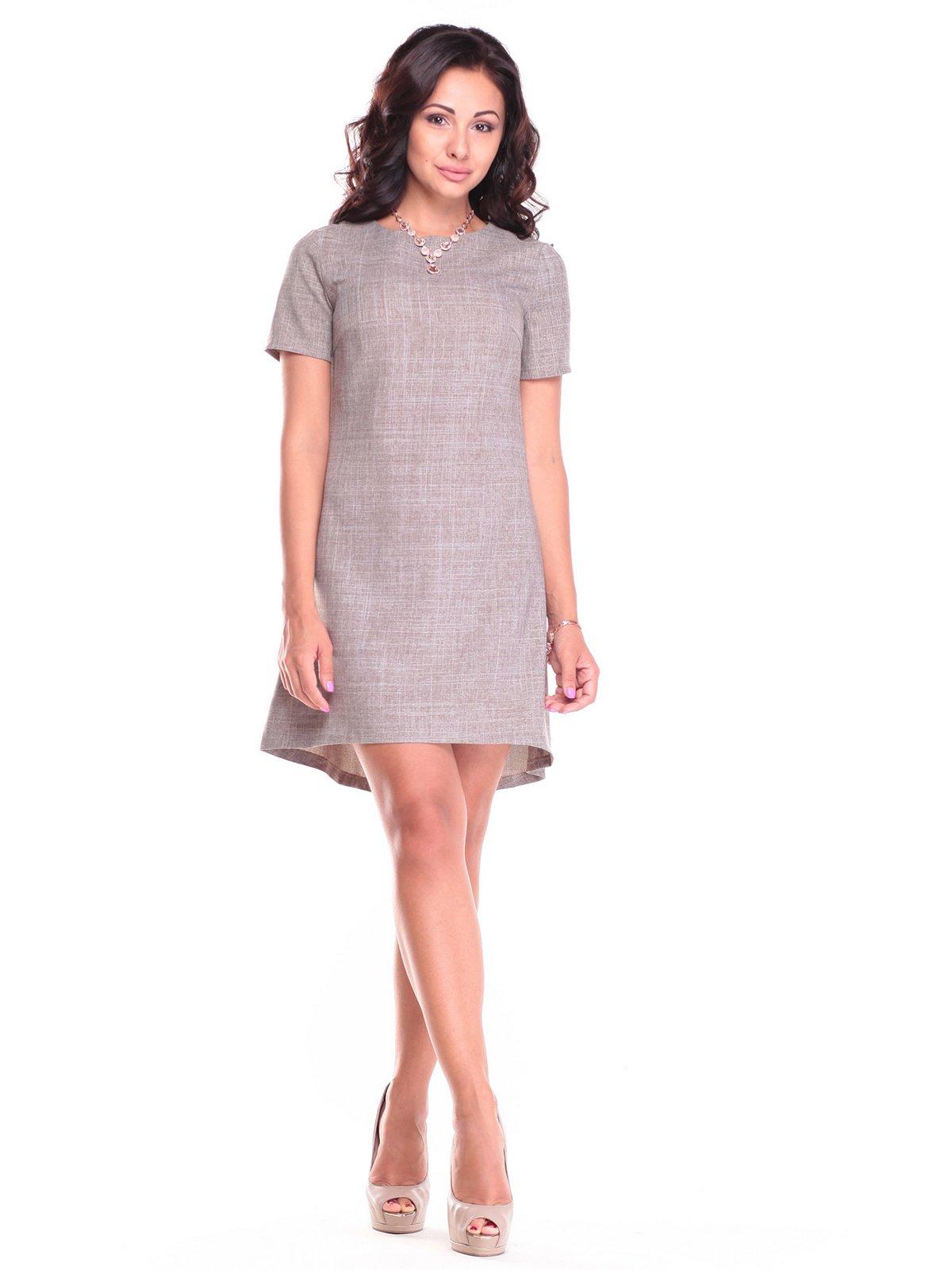Сукня кольору мокко | 2461898
