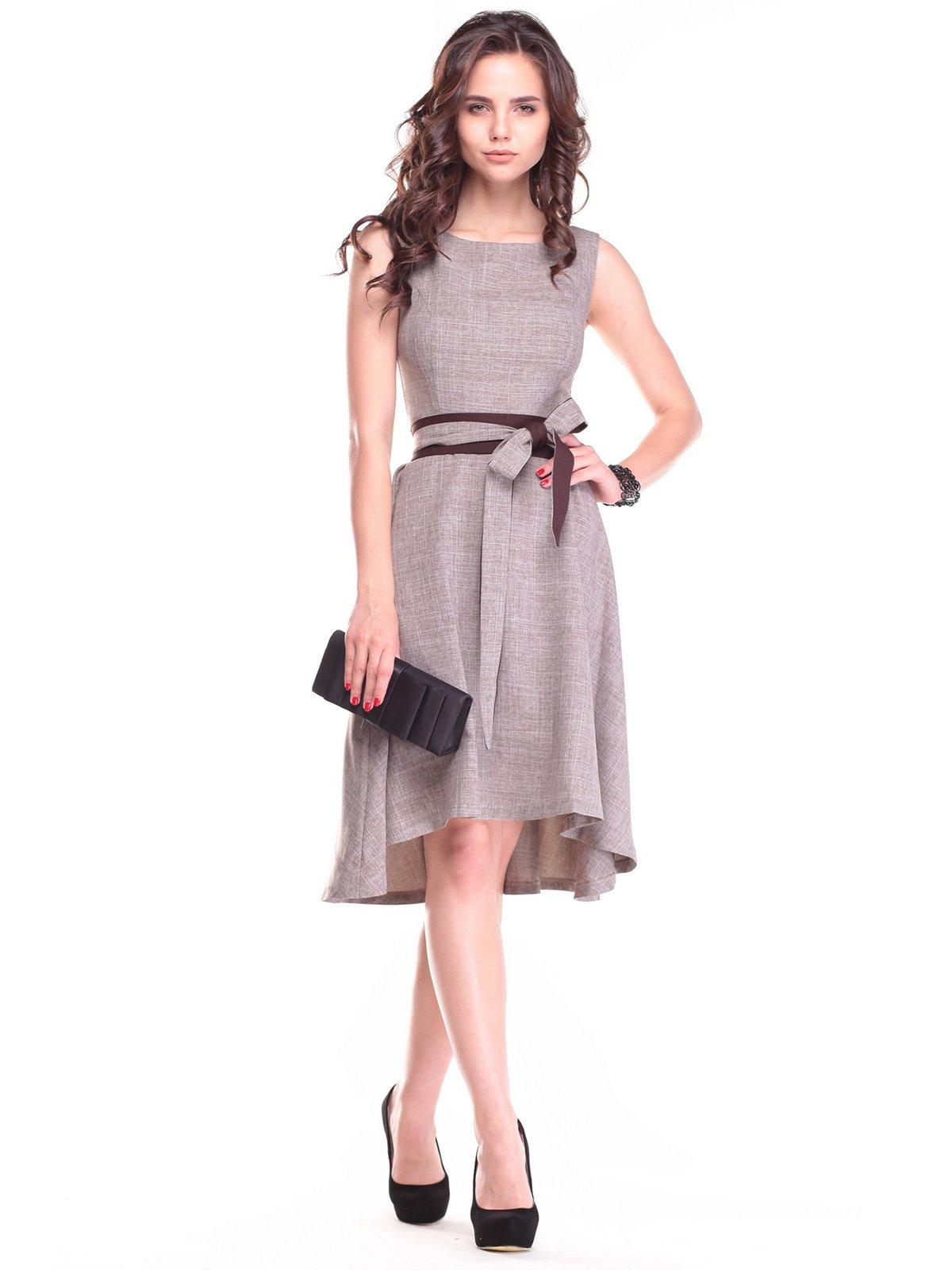 Сукня кольору мокко | 2461922