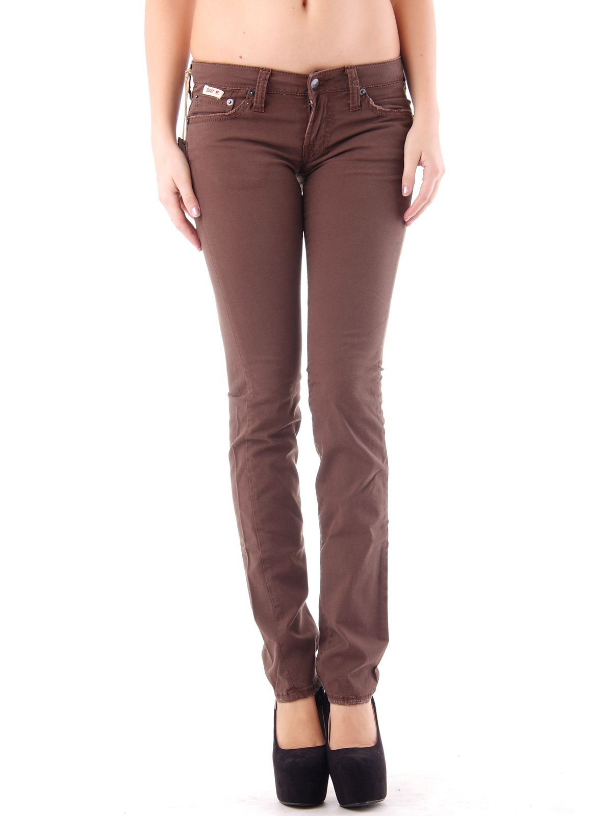 Штани коричневі | 2476243