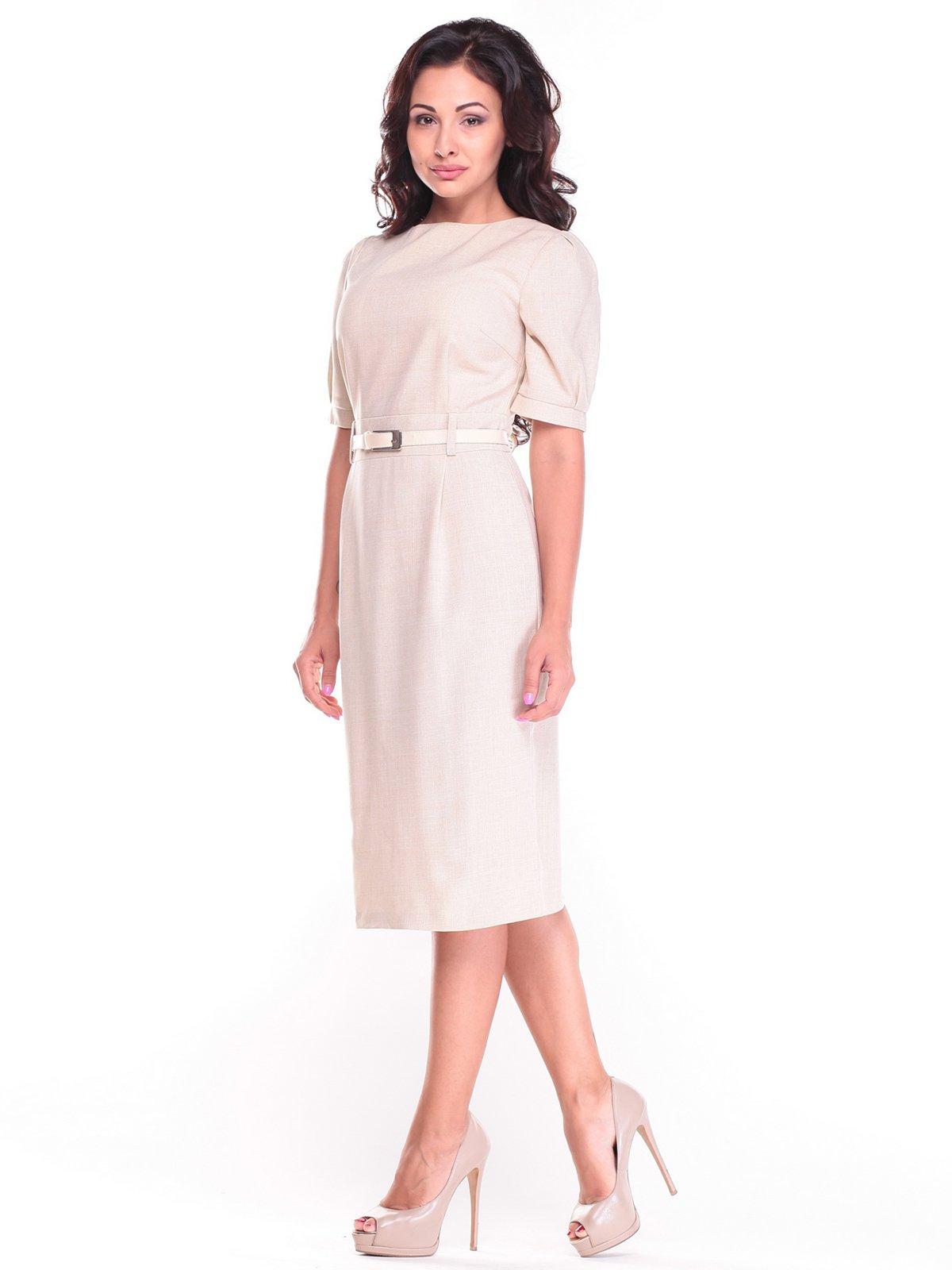 Платье бежевое   2484546