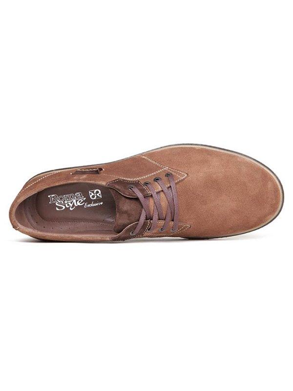 Туфли коричневые | 2407813 | фото 3