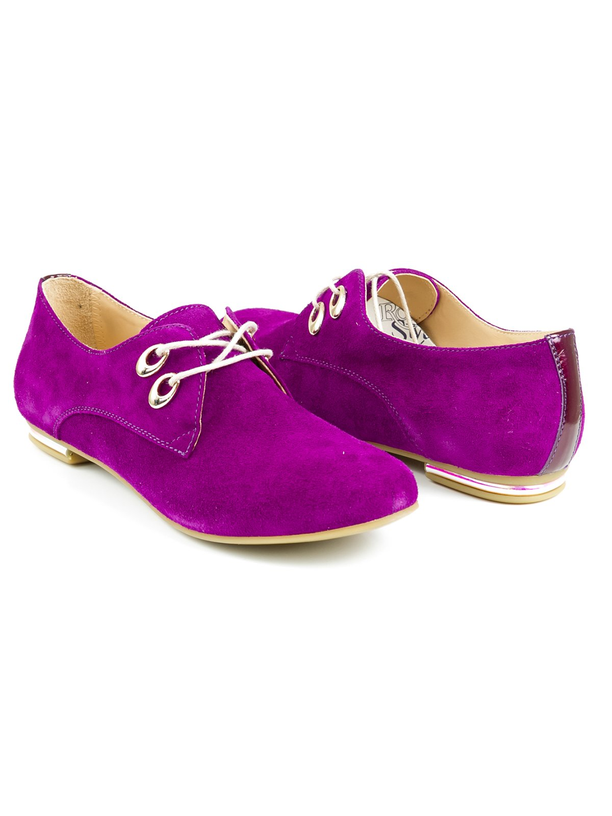 Туфли фиолетовые | 2407836