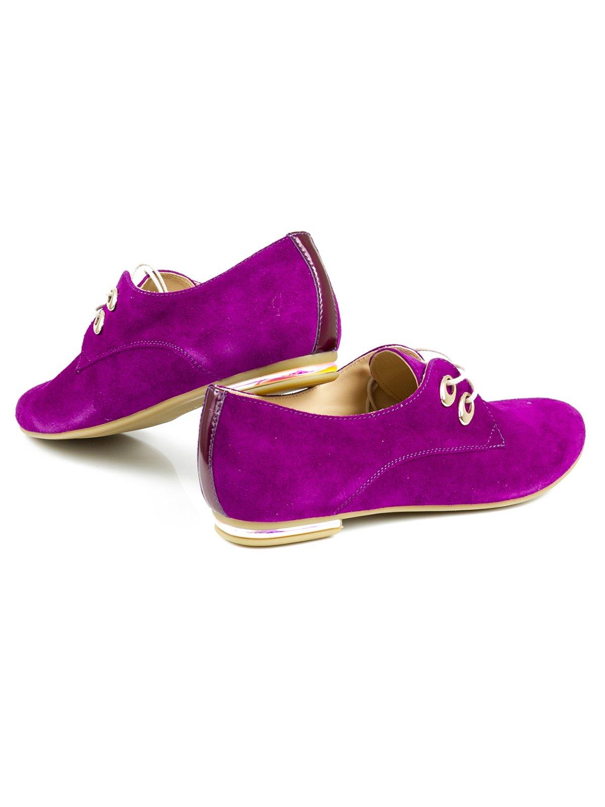 Туфли фиолетовые | 2407836 | фото 2