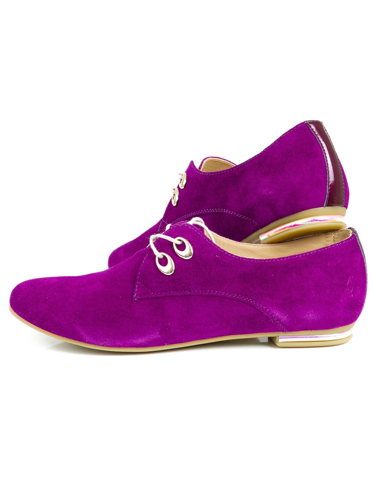 Туфли фиолетовые | 2407836 | фото 4