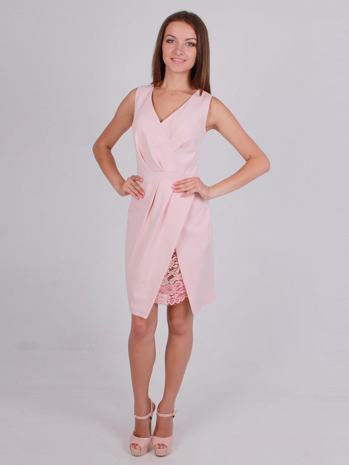 Платье розовое | 2495306
