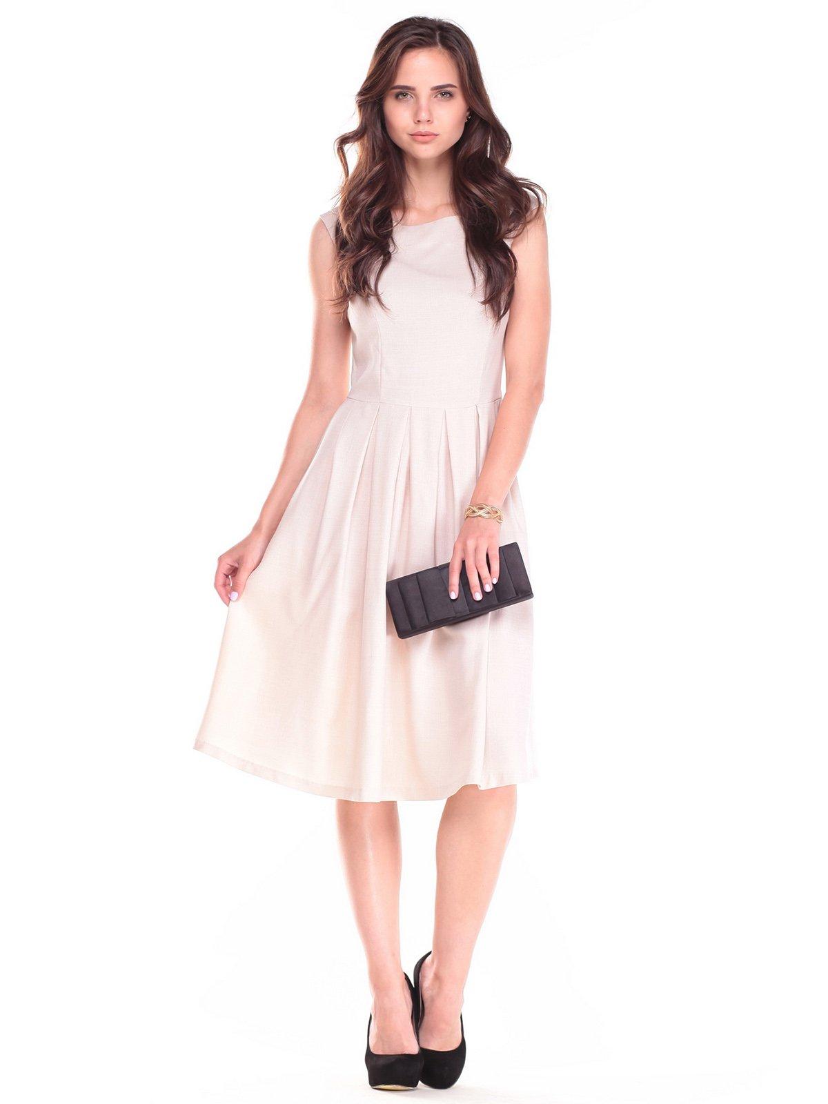 Платье бежевое | 2495531