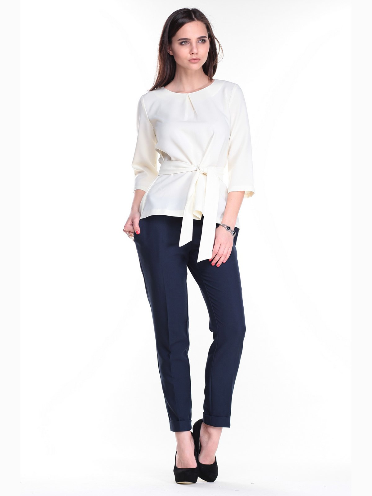Костюм: блуза и брюки   2318425