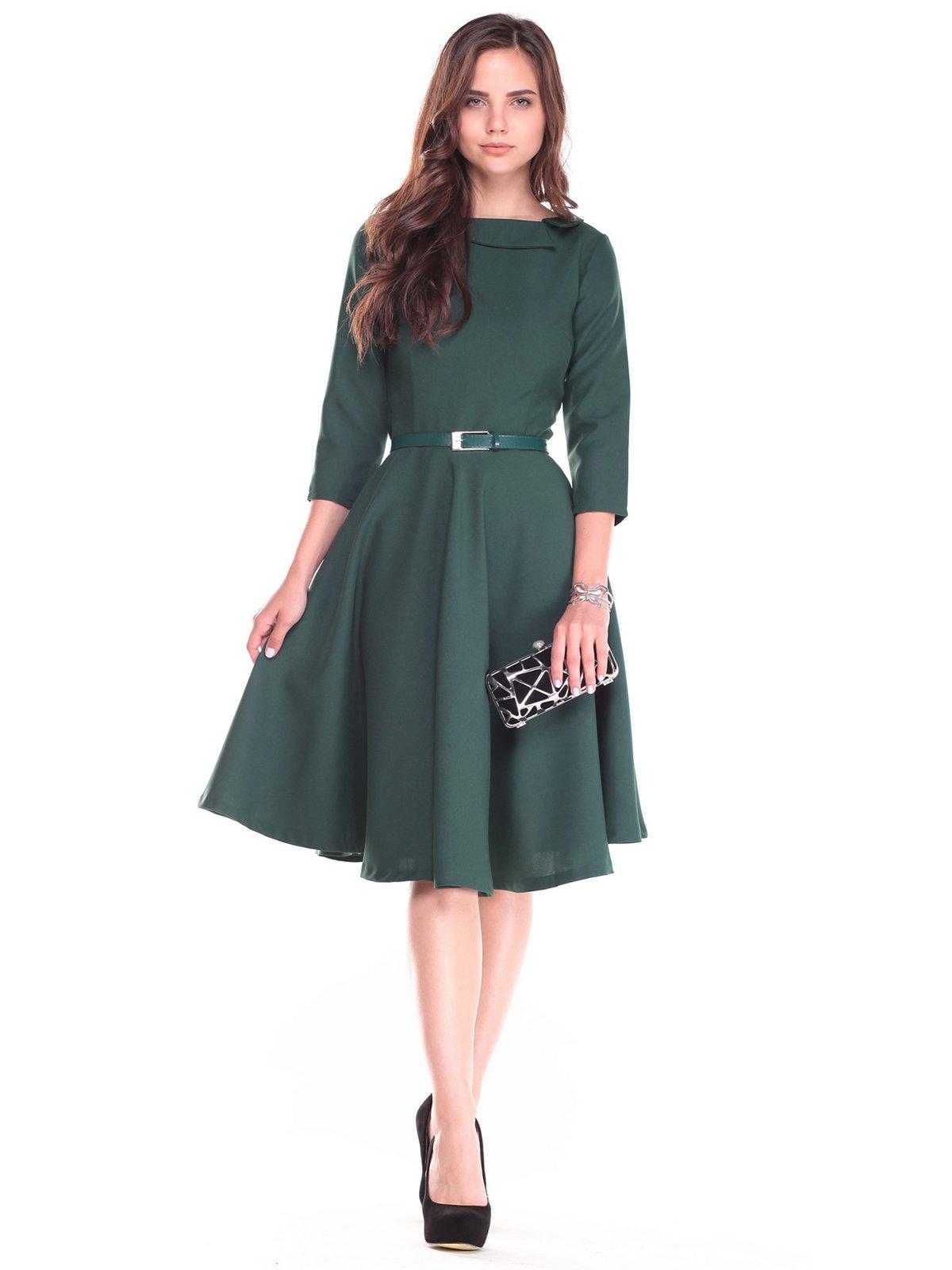 Сукня темно-смарагдова | 2507345