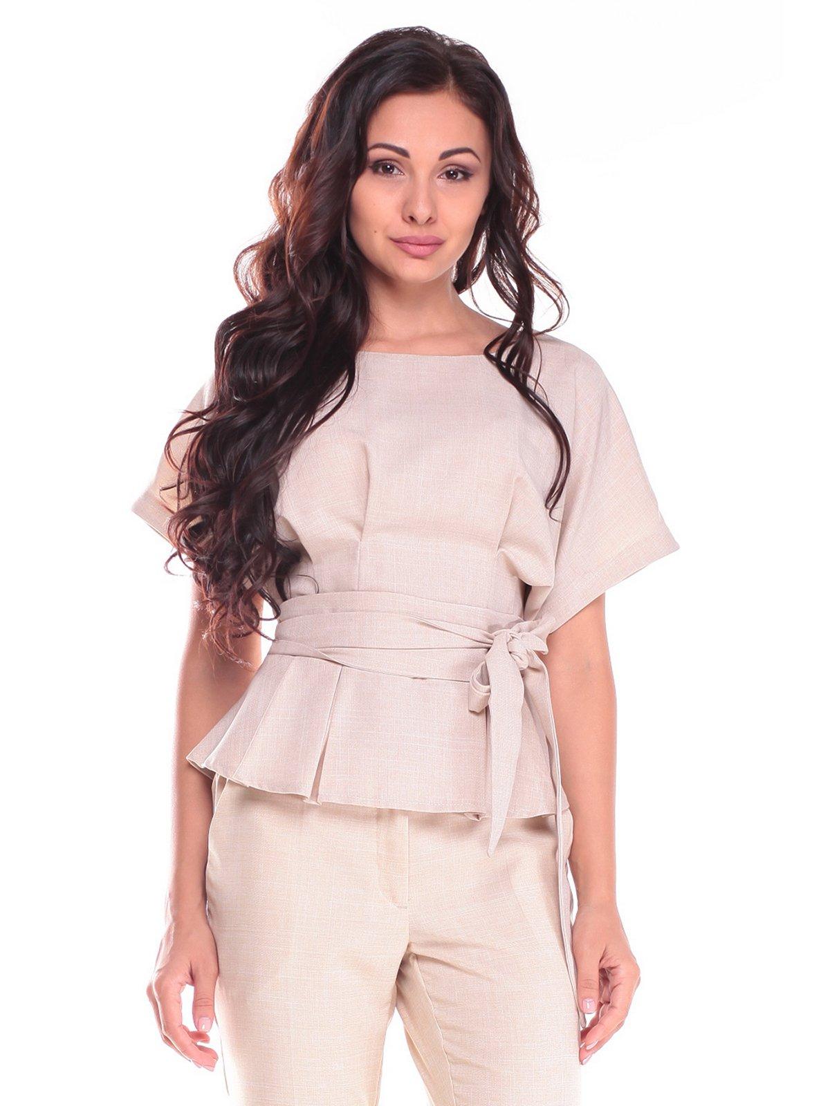 Блуза бежевая | 2528724