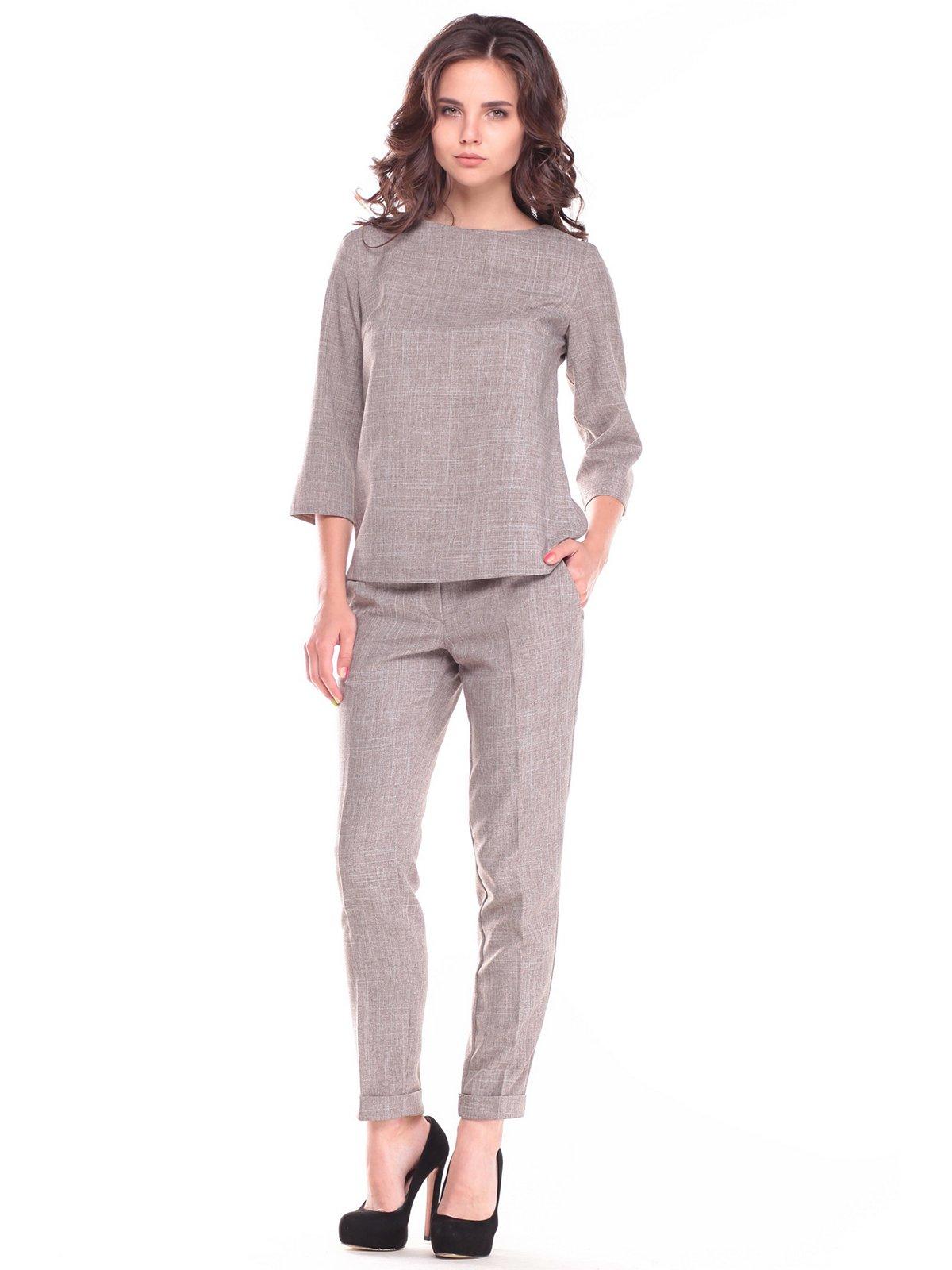 Костюм: блуза и брюки   2528725