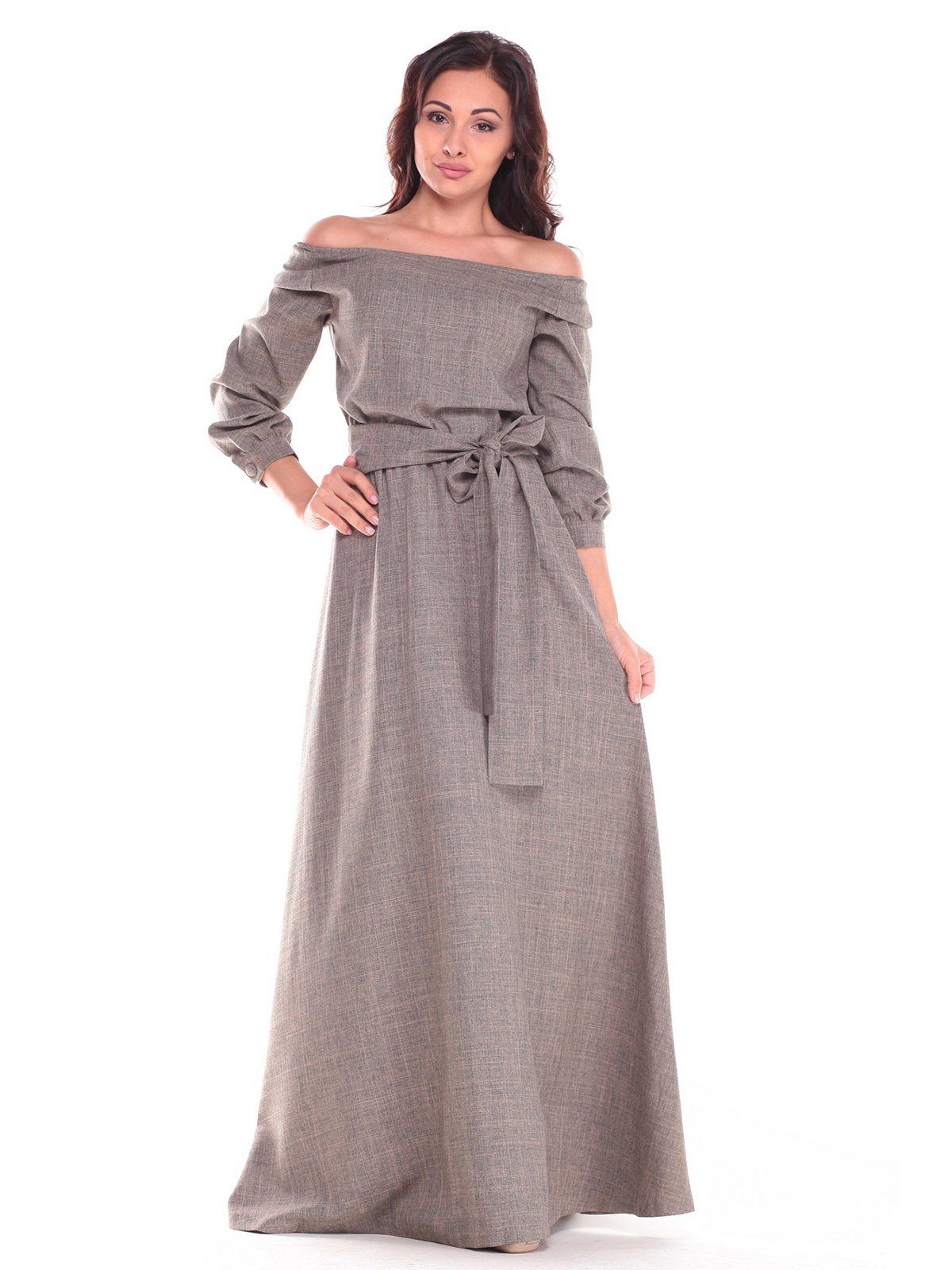 Сукня кольору хакі | 2528750