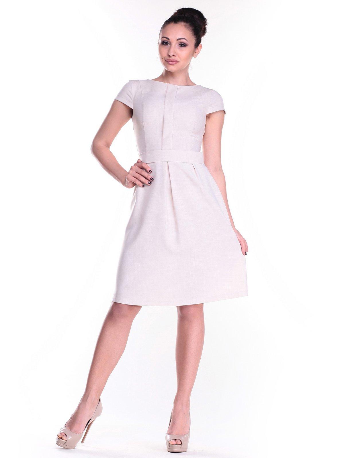 Сукня світло-бежева | 2484758