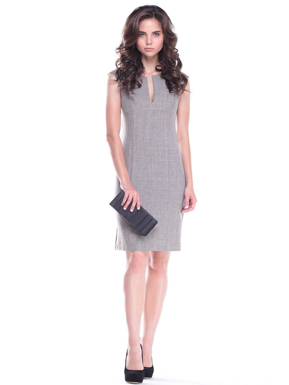 Платье-сарафан цвета мокко | 2513717