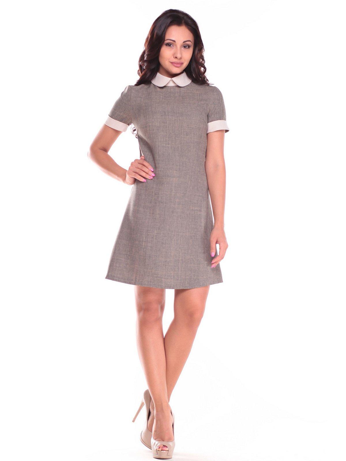 Платье цвета хаки | 2513734