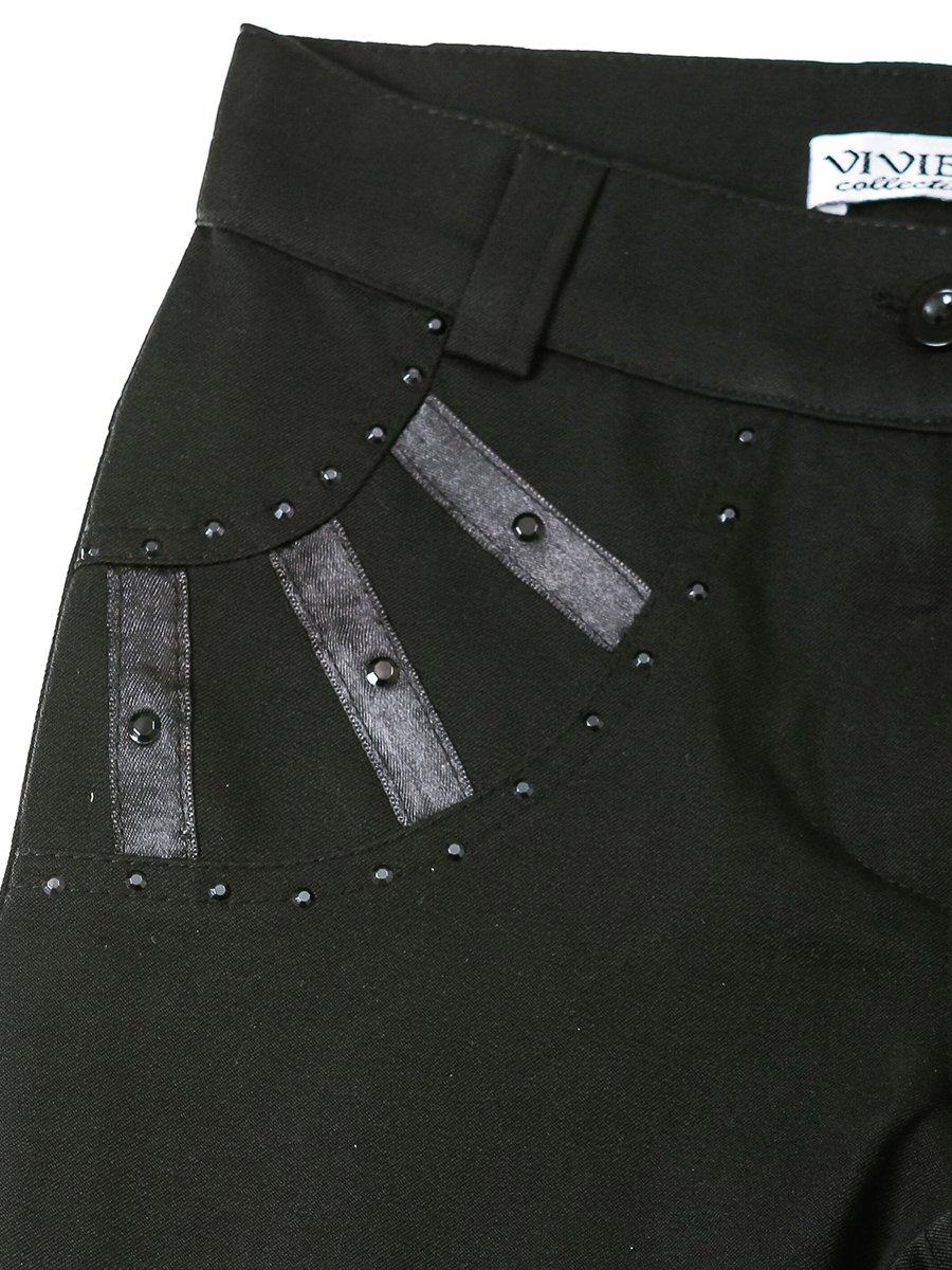 Штани чорні | 2500552