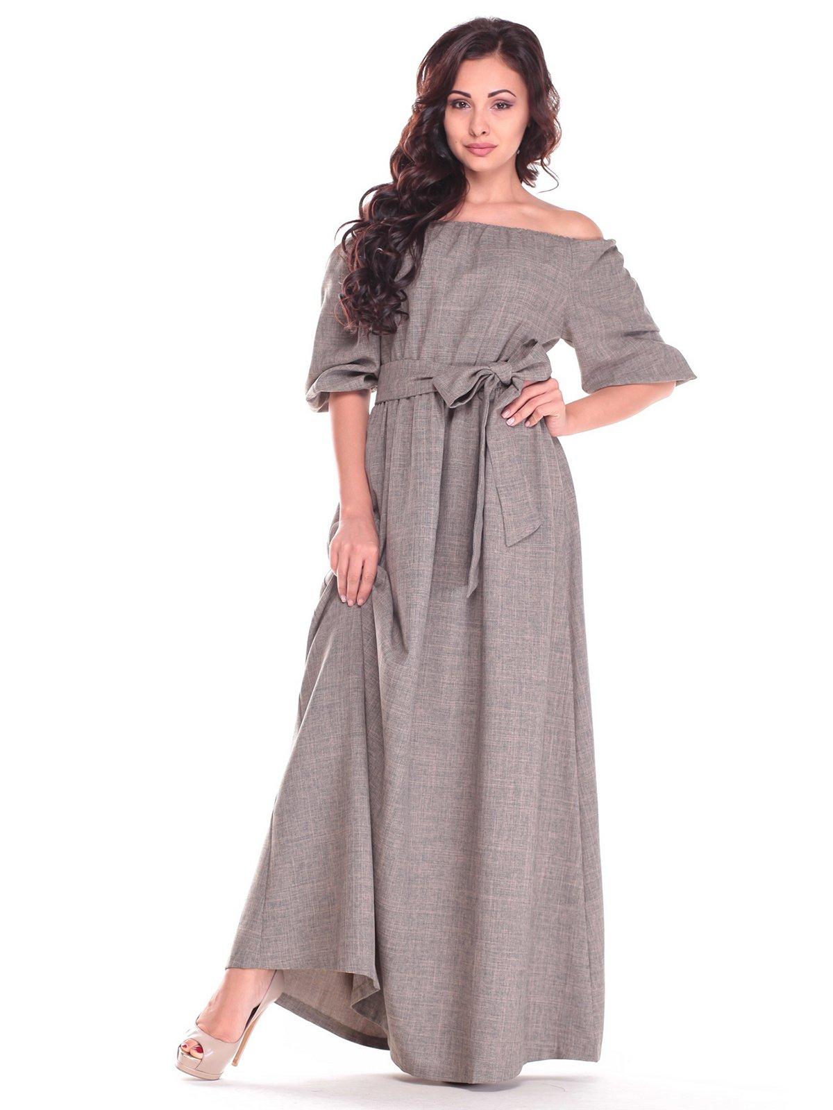 Платье цвета хаки | 2536479
