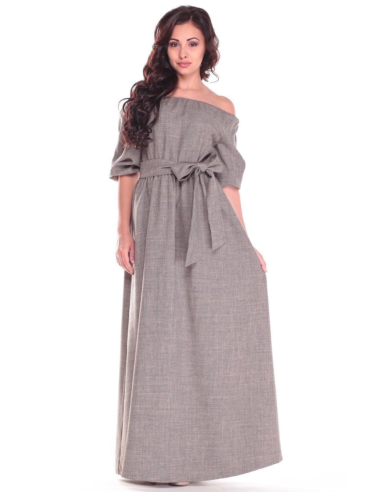 Платье цвета хаки | 2536479 | фото 4
