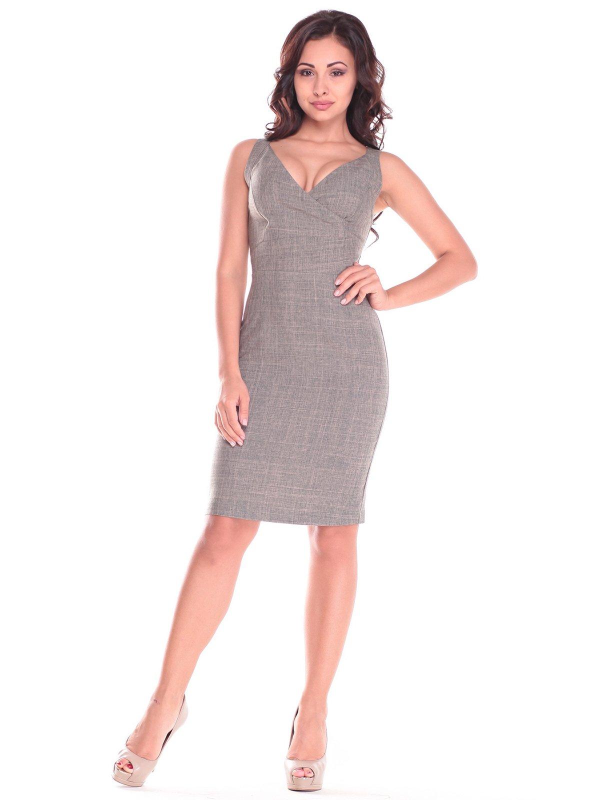 Сукня-сарафан кольору хакі | 2536481