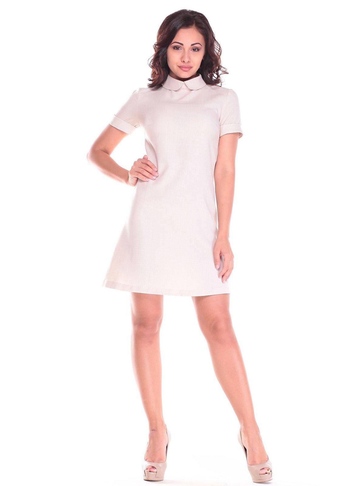 Платье бежевое | 2536487