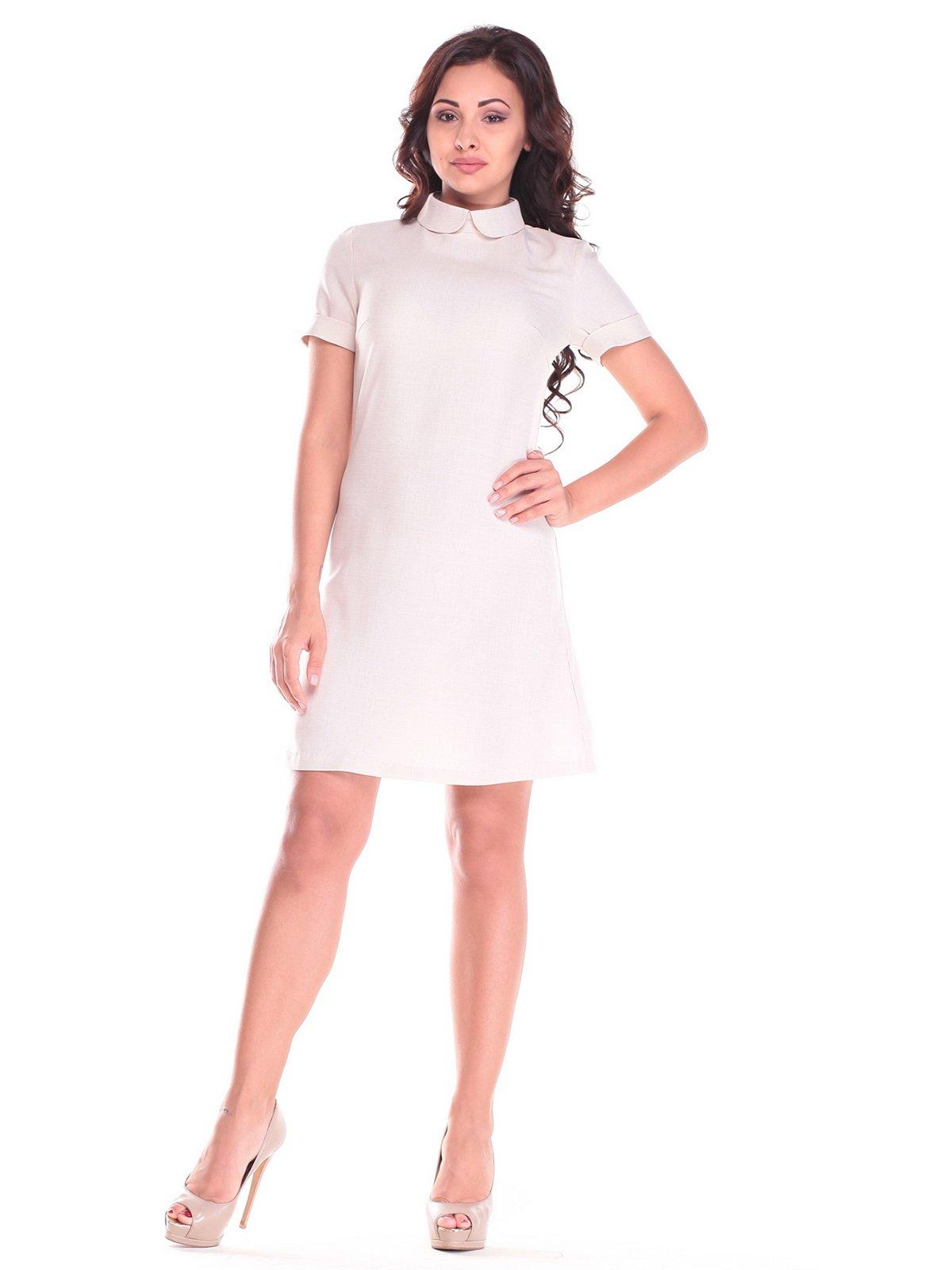 Платье светло-бежевое | 2536488