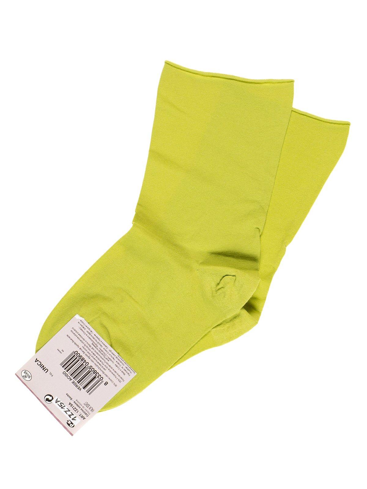 Шкарпетки салатові | 2538832