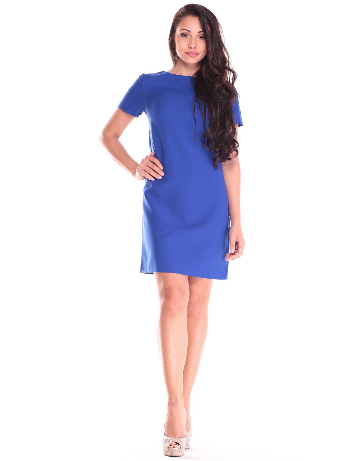 Сукня кольору електрик | 2555357