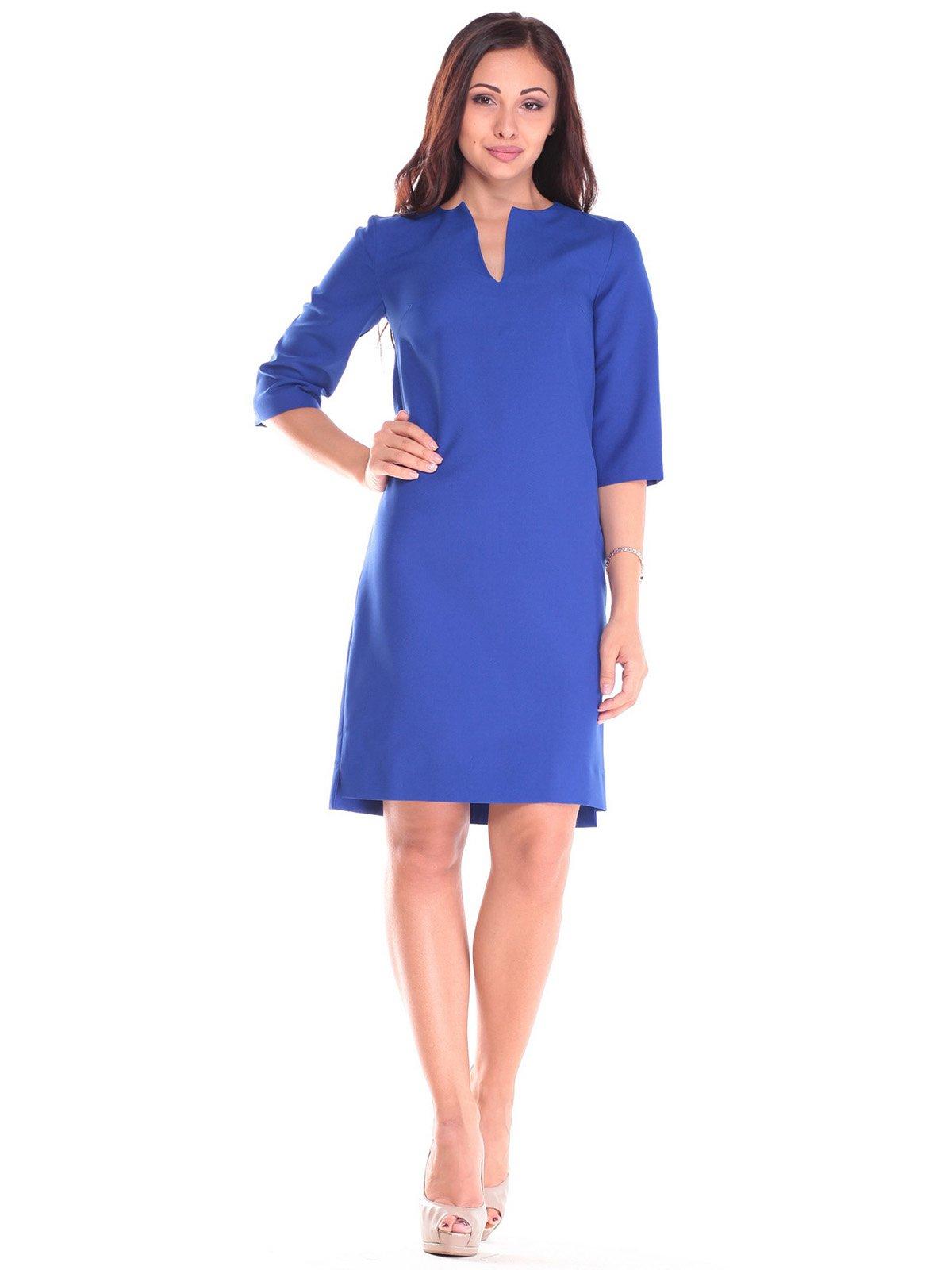 Платье цвета электрик | 2557056