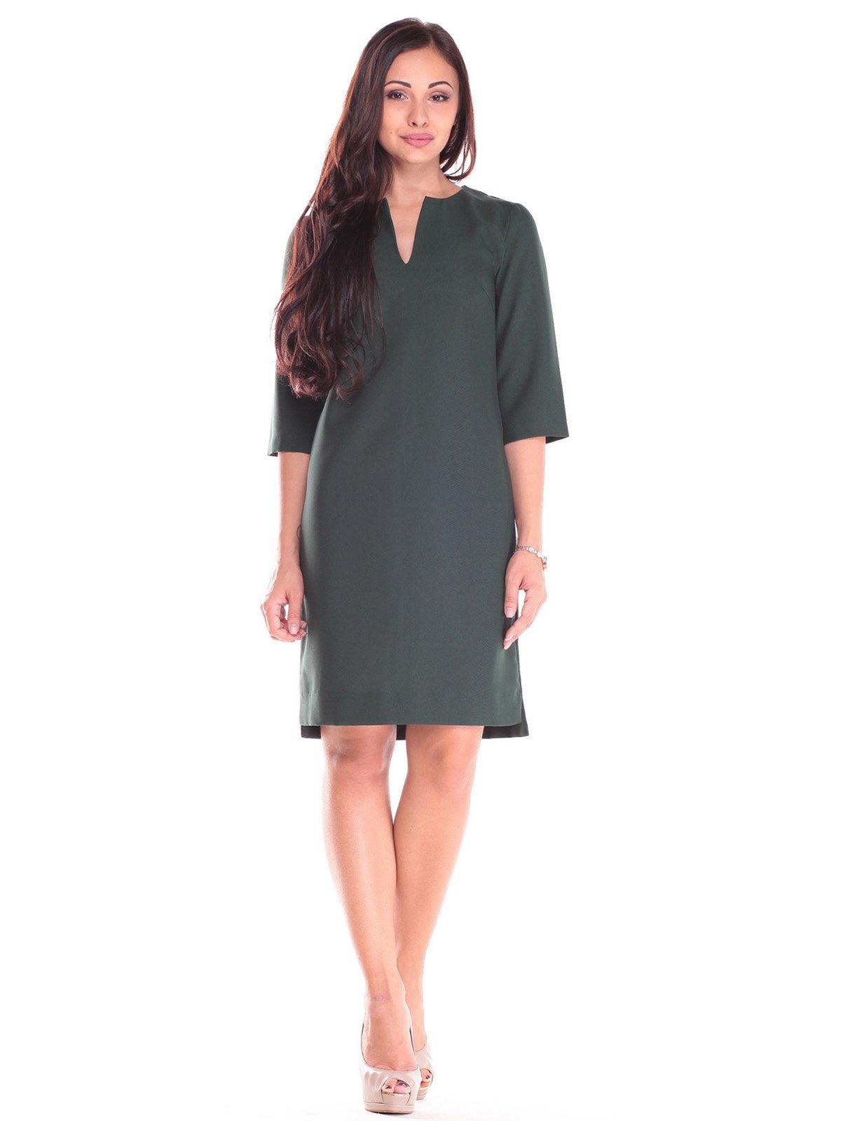 Сукня темно-смарагдова | 2557066