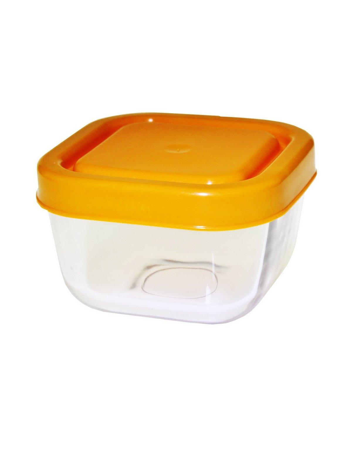 Скляний контейнер з пластиковою кришкою | 799174