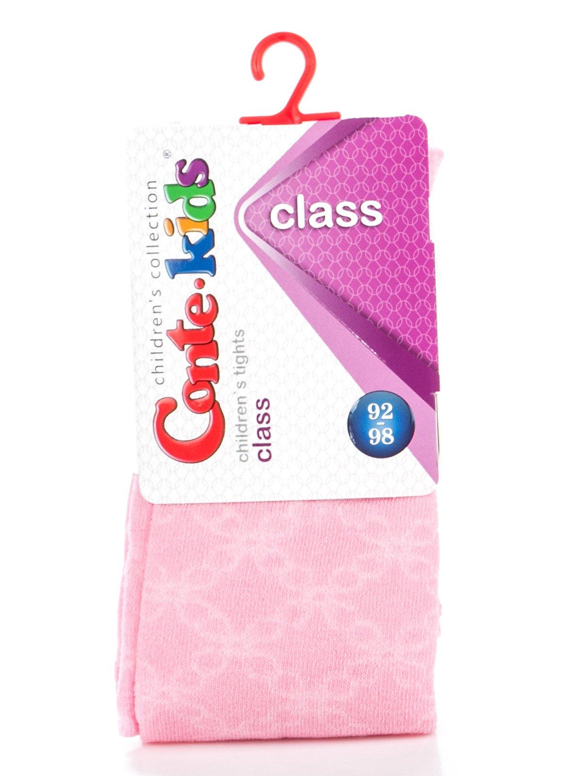 Колготки светло-розовые с рисунком   2626204   фото 2
