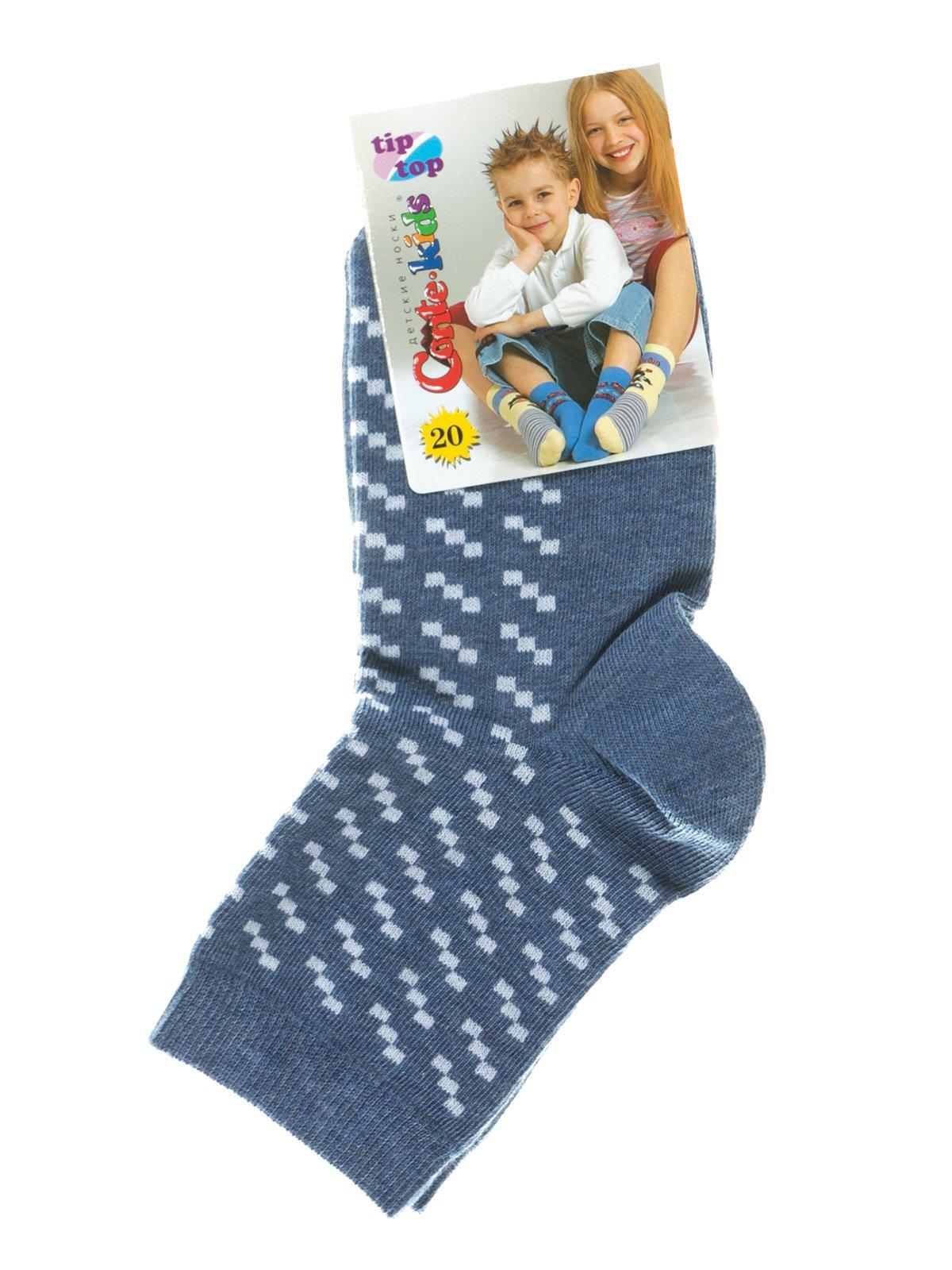 Шкарпетки сині з малюнком   2626371