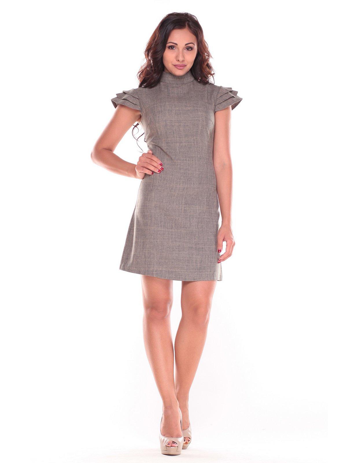 Сукня кольору бежевий хакі | 2589155