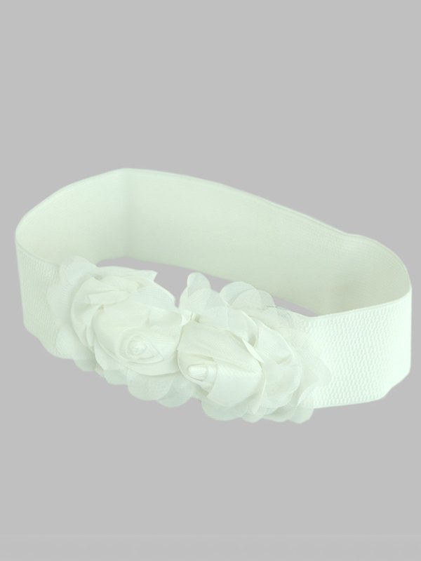 Пояс-резинка білий | 2601118