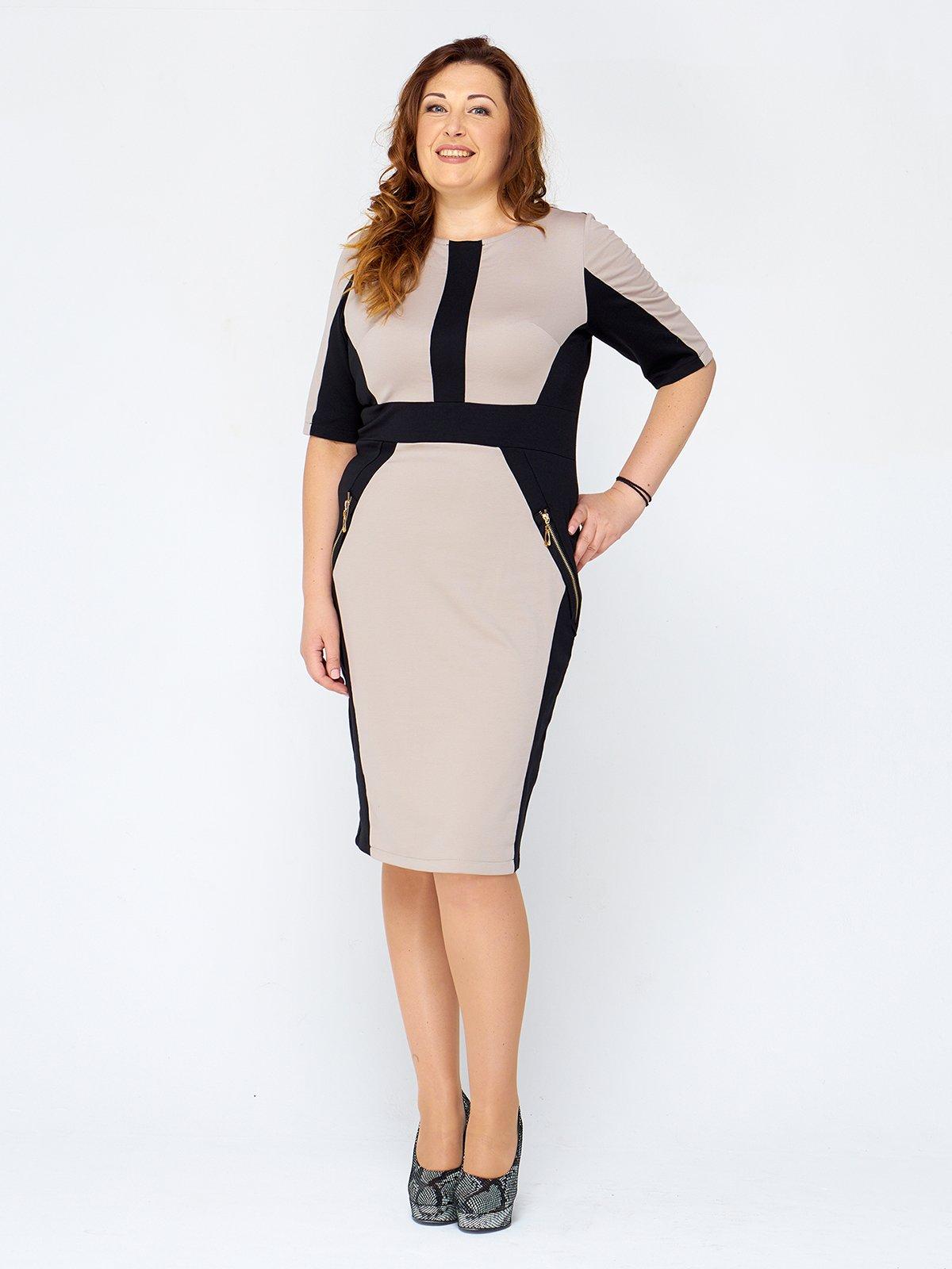 Платье двухцветное   2599651