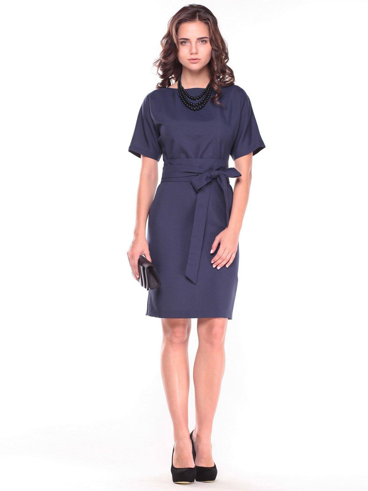 Сукня темно-синя | 2601667