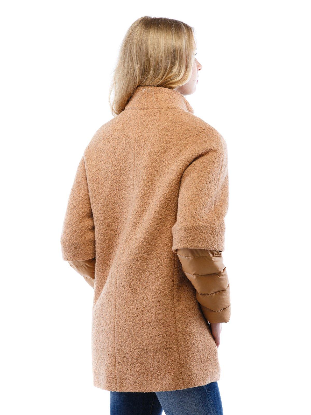Пальто коричневе | 2618063 | фото 2