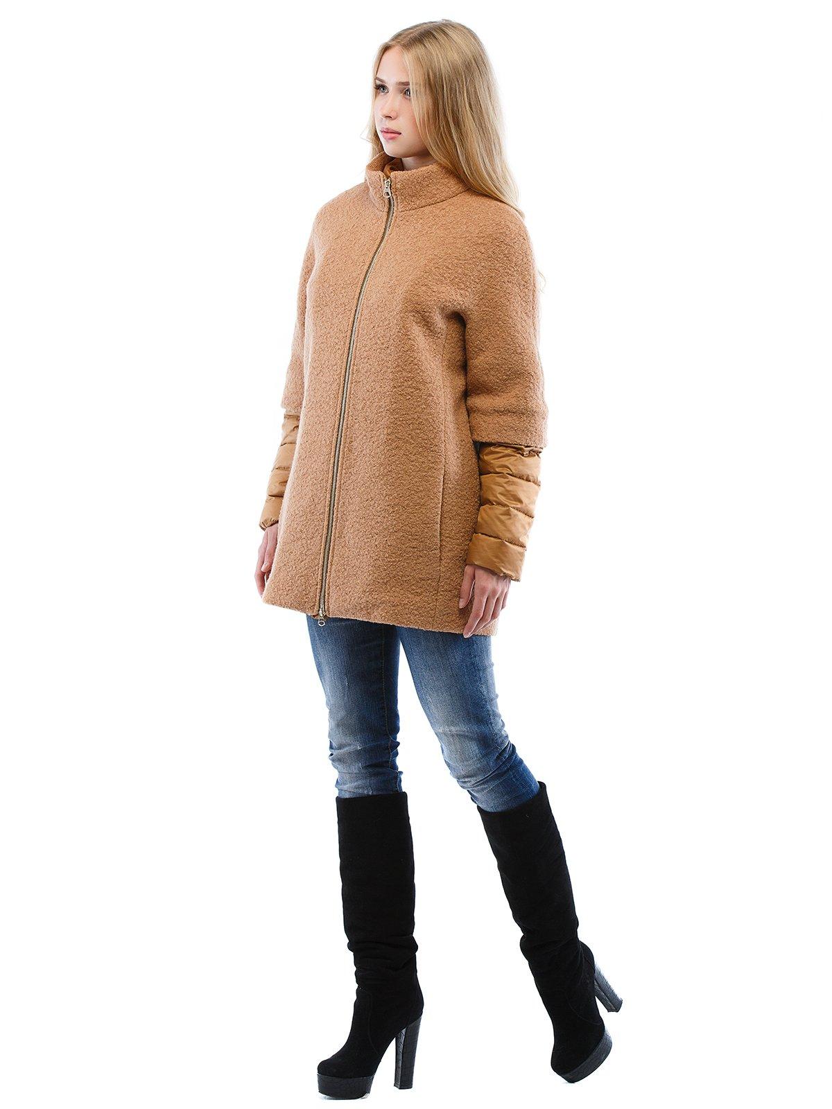 Пальто коричневе | 2618063 | фото 3