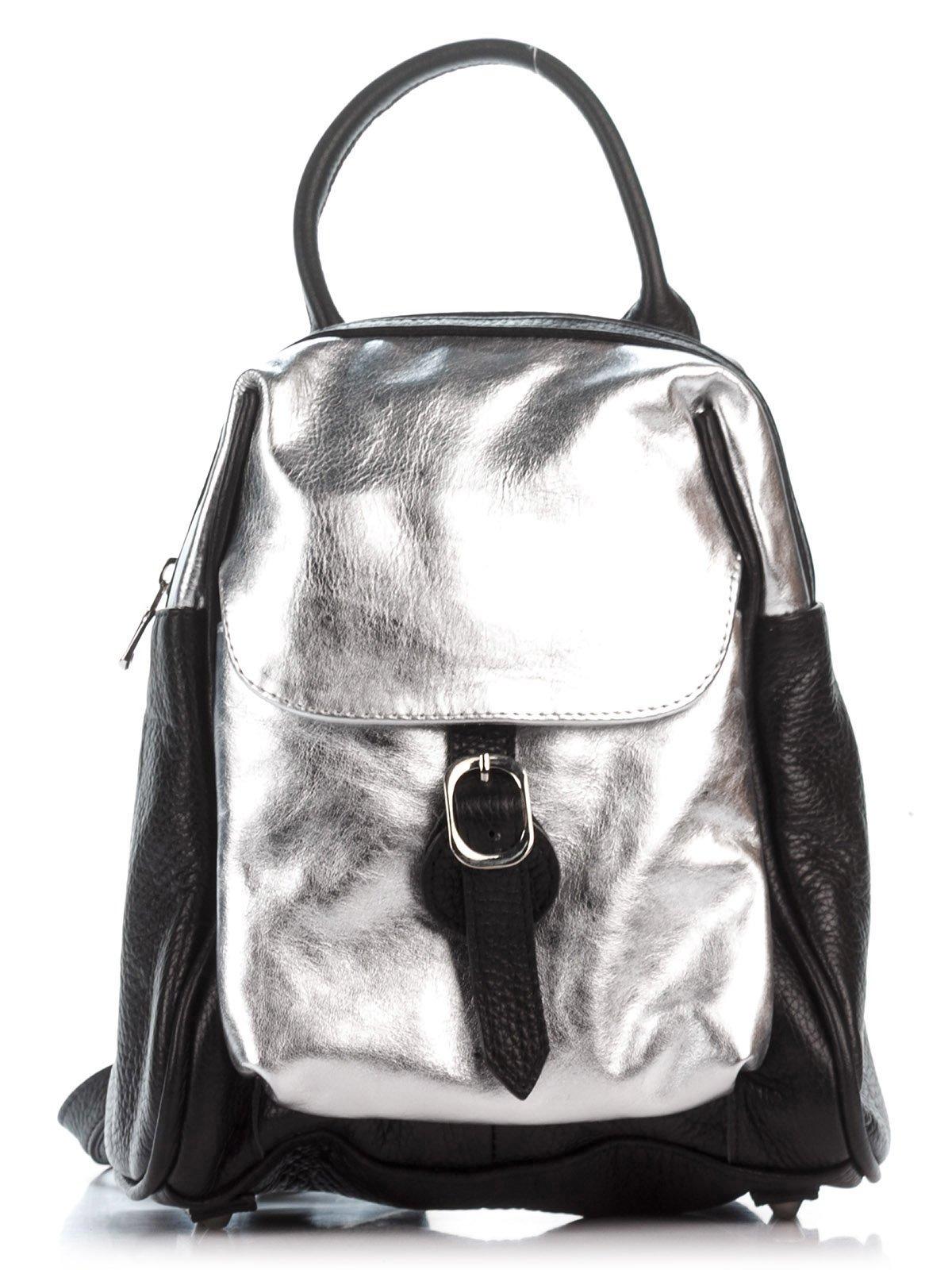 Рюкзак черно-серебристый | 2612082