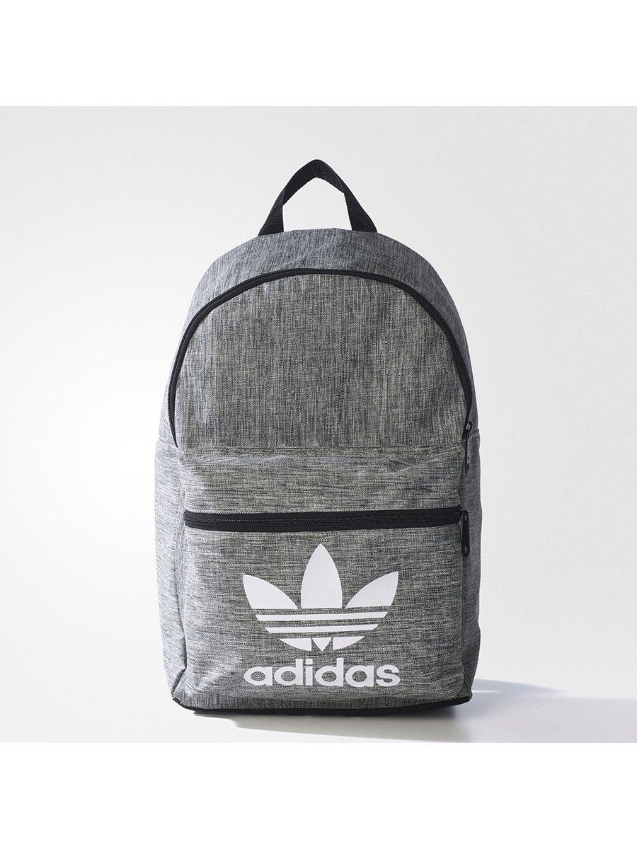 7b62c608907a Рюкзак черно-серый с принтом — Adidas, акция действует до 3 октября ...