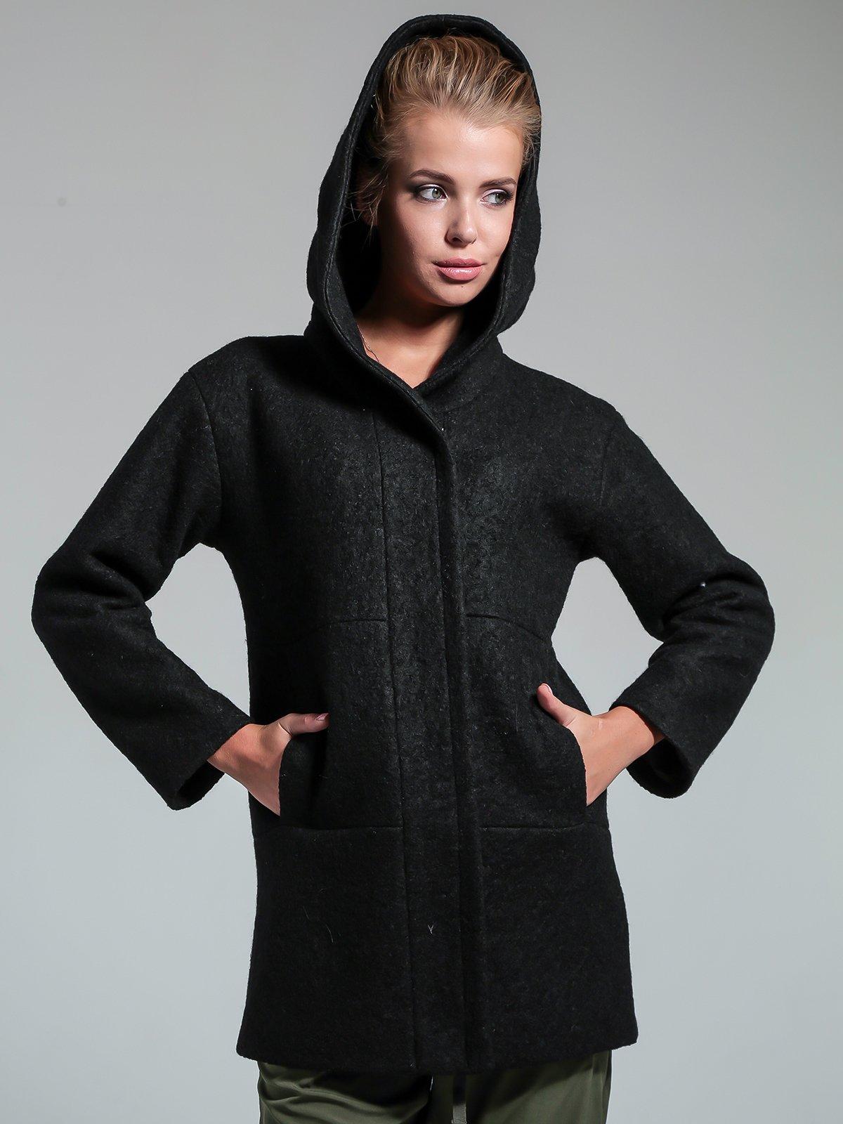 Пальто чорне | 1891326 | фото 2